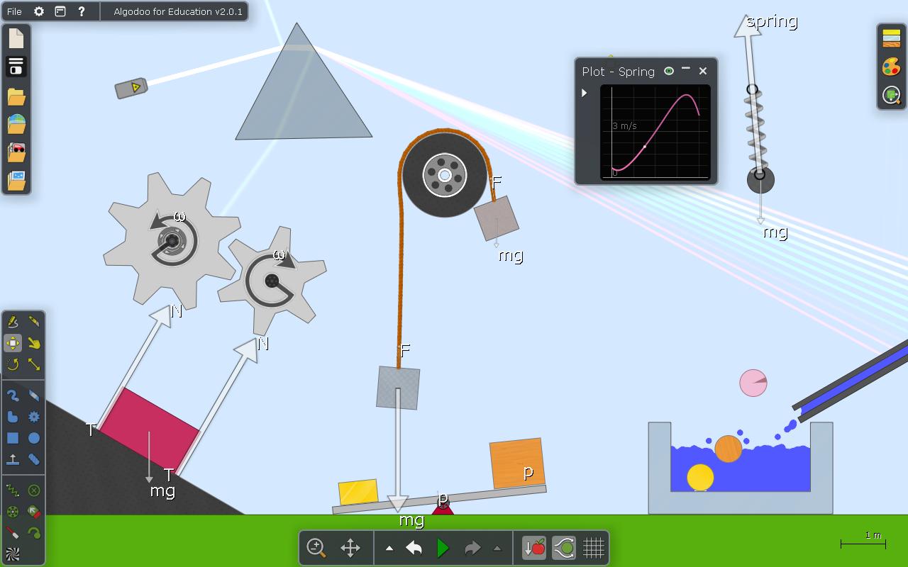 Algodoo | Gerçek Dünya Simülatörü Fen ve Fizik Dersleri İçin