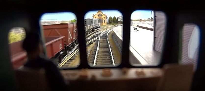 Bir Model Trenin İçinde Yolculuk Edelim mi? :)