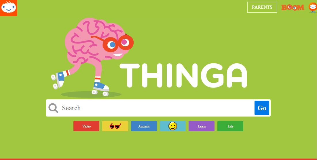 Thinga – Çocuklar İçin Güvenli Arama Motoru
